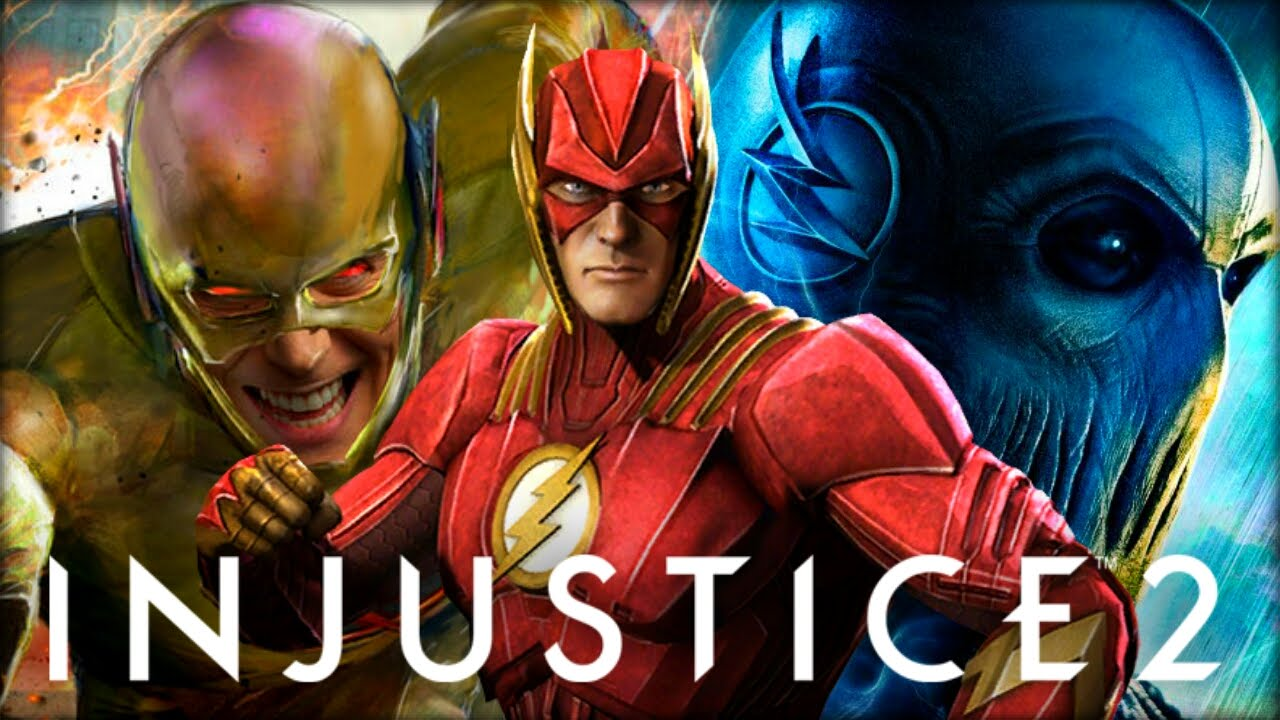The Flash,Injustice 2