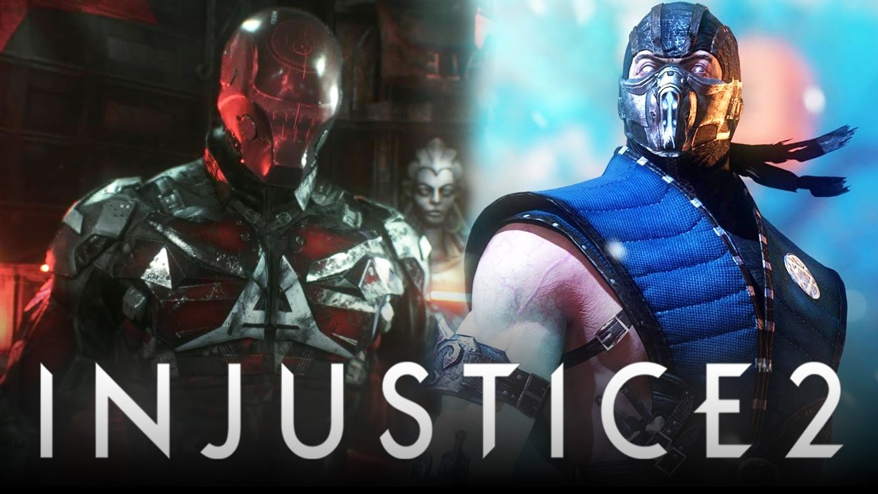 Red Hood,Injustice 2,Fighter Pack 1