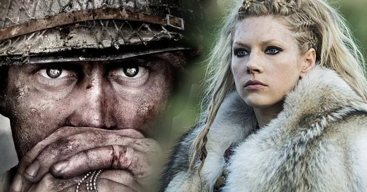 Katheryn Winnick,COD,Activision,Sledgehammer Games,Call of Duty: WWII