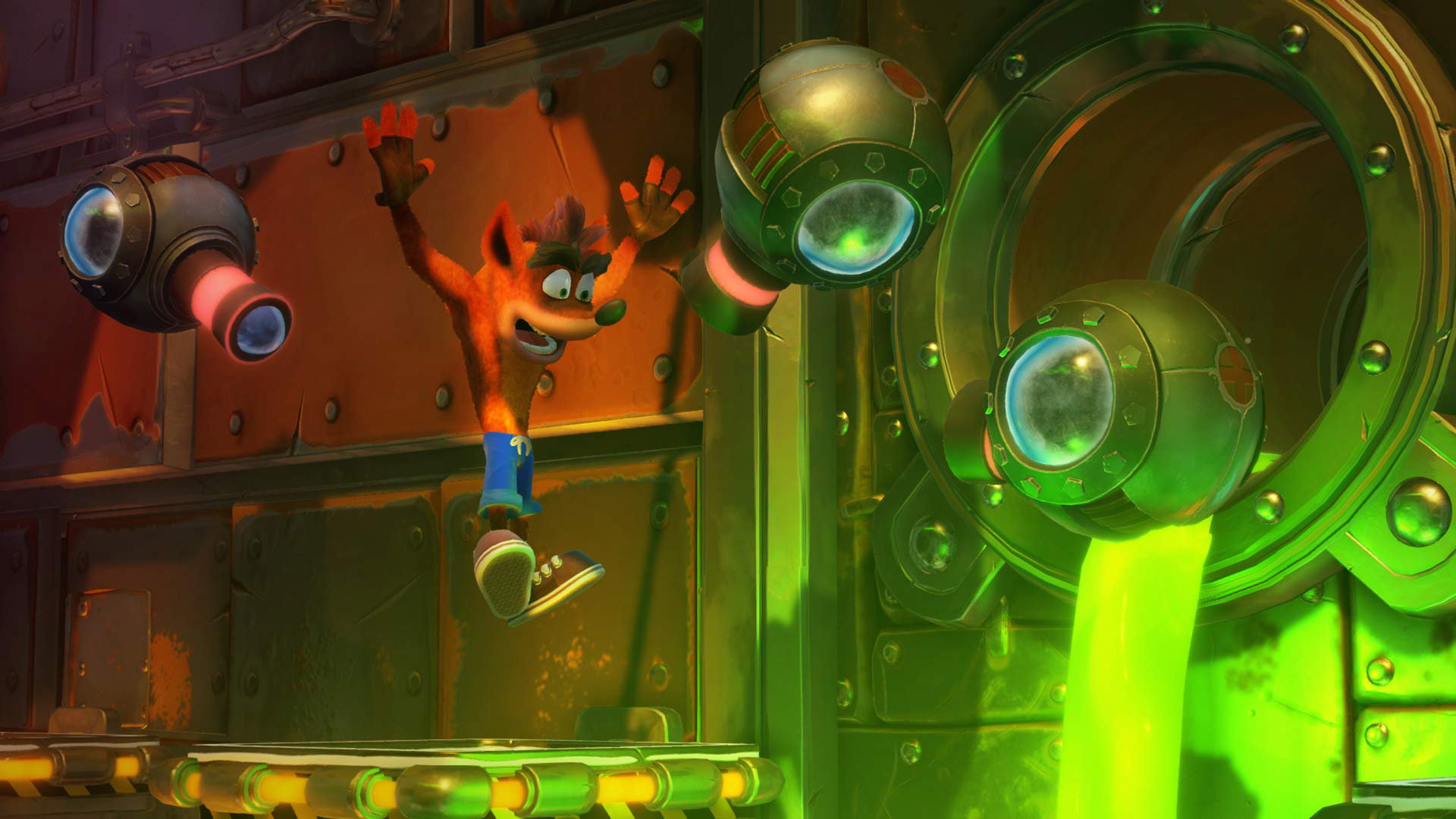 Crash Bandicoot N.Sane Trilogy,Grand Theft Auto V,Top 10 UK Sales Chart,چارت فروش هفتگی کشور انگلستان,Fallout 4,Agents of Mayhem,Mario Kart 8 Deluxe,DOOM,Dishonored 2,Tom Clancy's Rainbow Six Siege,Splatoon 2,Forza Horizon 3,چارت بازی‌های پرفروش انگلستان,صدرنشینی بازی Crash Bandicoot در چارت بازی‌های پرفروش هفته انگلستان,کرش بندیکوت