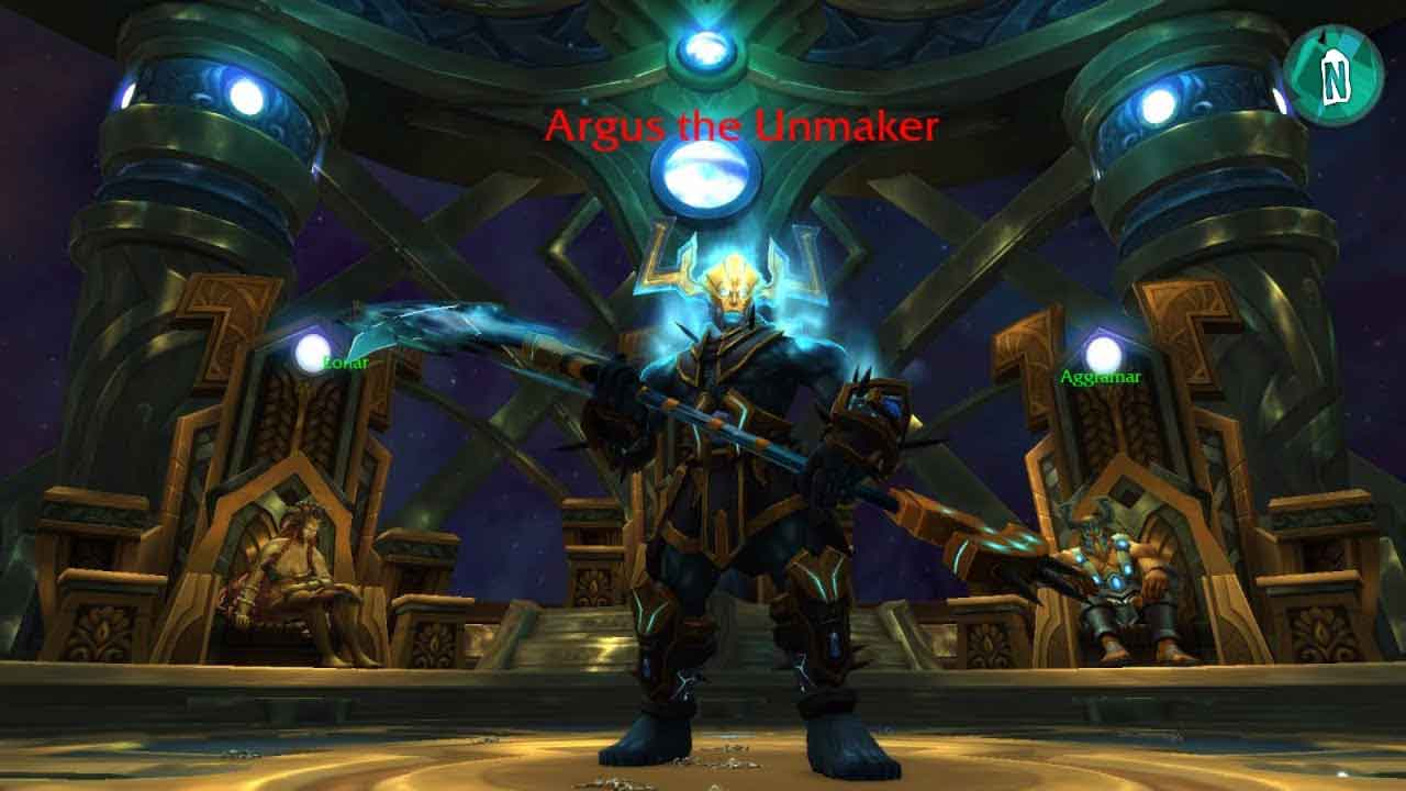 Aggramar, Aggramar the Avenger,Antorus, Argus the Unmarker,Argus,Blizzard, Blizzard Entertainment, Burning Legion,Legion,Sargras, The Burning Throne,Warcraft, World Of Warcraft, World of Warcraft: Legion,WOW, آنتاروس: تاج و تخت آتشین,بیلیزارد,لژیون, نسخه جدید WOW