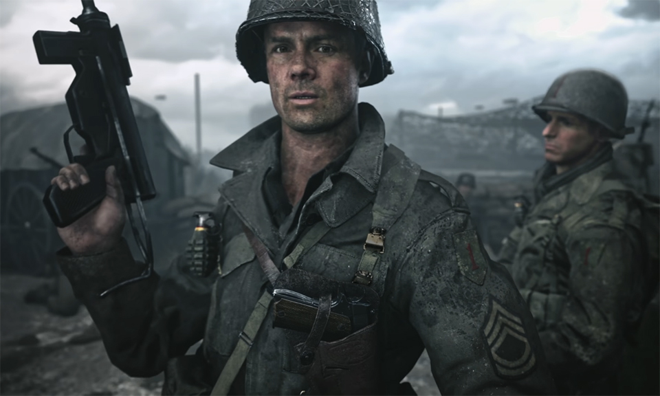 Call of Duty: WWII,COD,Call of Duty,Activision,Sledgehammer Games,Sledgehammer,استودیو Sledgehammer,اکتیویژن,تریلر,تریلر بازی,تریلر جدید,تریلر جدید بازی,تریلر جدید بازی Call Of Duty WWII,تریلر جدید بازی کالاف دیوتی,کالاف دیوتی,Paris Games Week 2017, Sony Paris Games Week 2017, Paris Game Week 2017