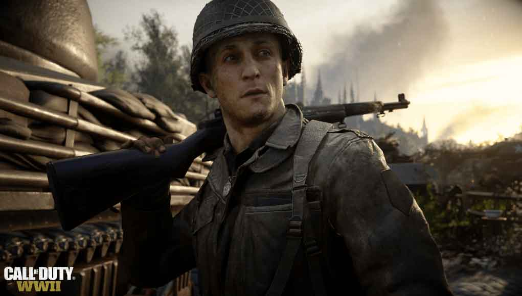 Call of Duty: WWII,FIFA 18,Star Wars Battlefront 2,Top 10 UK,UK Chart,چارت بازی‌ های پرفروش انگلستان,چارت انگلستان,چارت انگلیس,چارت بریتانیا,چارت فروش هفتگی کشور انگلستان,چارت هفتگی بازی‌ های پرفروش کشور انگلستان,Assassins Creed: Origins,GTA V,Crash Bandicoot N. Sane Trilogy,Super Mario Odyssey ,Playerunknown Battlegrounds,The Sims 4,WWE 2K18