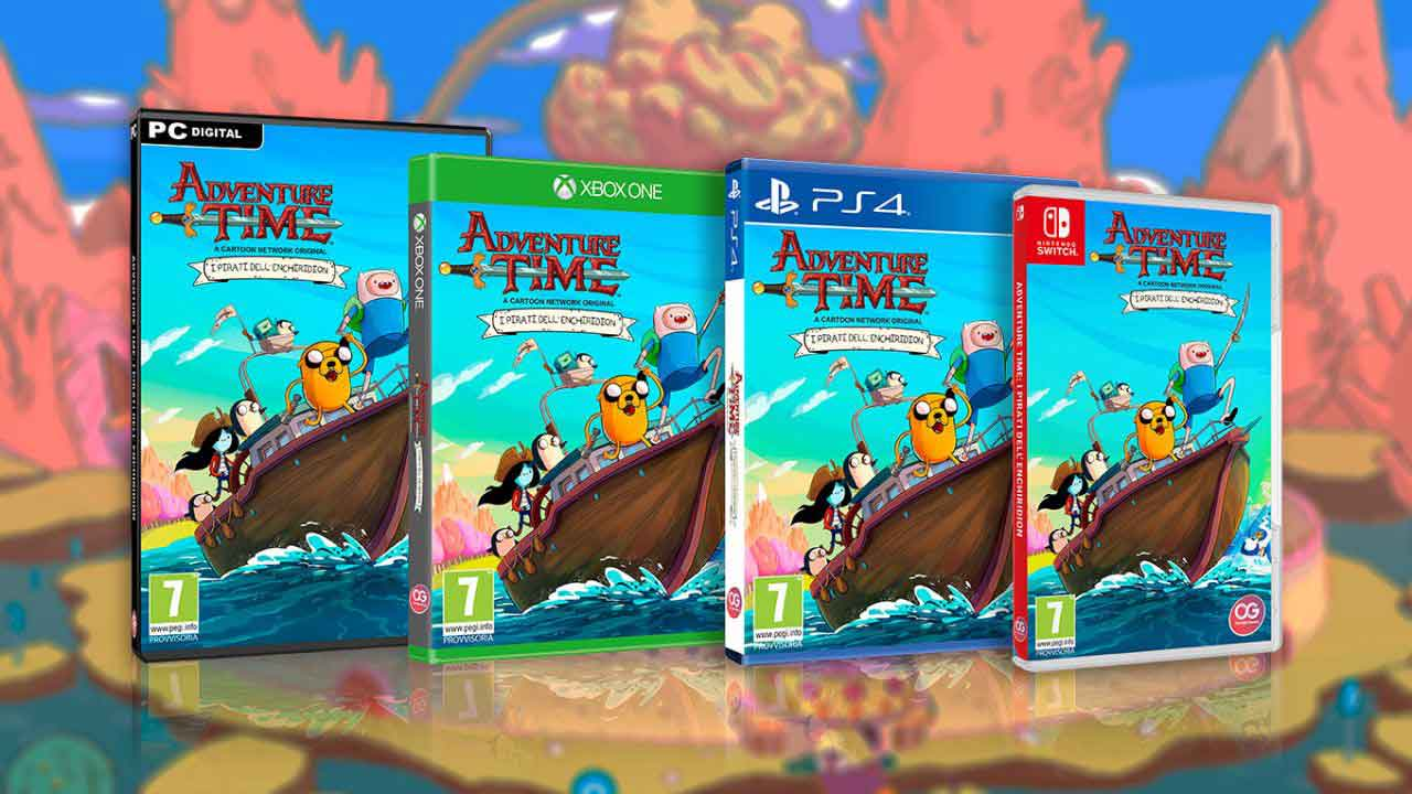 Adventure Time,Finn,Jake,Pirates of the Enchiridion,Adventure Time: Pirates of the Enchiridion,Bandari Namco,Marceline,BMO ,فین,جیک,بازی PlayStation 4,بازی X Box One,بازی کامپیوتر,PS4,PlayStation 4,X Box One,Nintendo, Nintendo Switch,بازی نینتندو,بازی Nintendo Switch,PC,بازی PC,بازی جهان باز,بازی دزدان دریایی,
