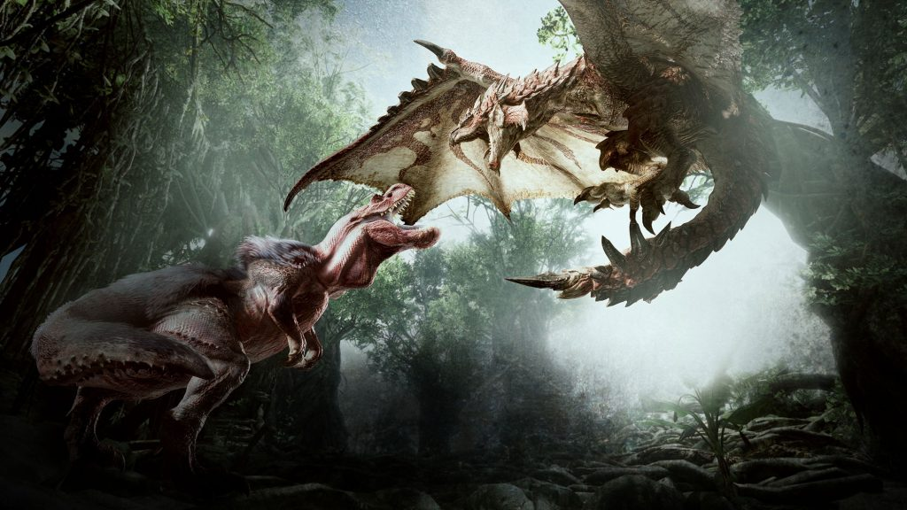 Monster Hunter: World,Horizon: Zero Dawn,Monster Hunter,E3 2017,Capcaom,کپ کام,مانستر هانتر