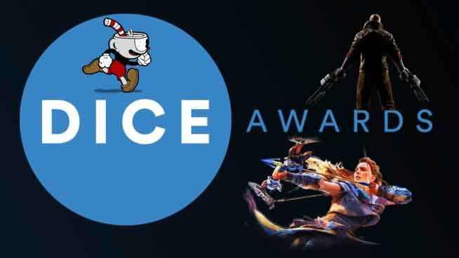 D.I.C.E.,D.I.C.E. Awards,Call of Duty: WWII,Destiny 2,Wolfenstein II: The New Colossus, Player Unknowns Battlegrounds,نامزدهای جوایز مراسم D.I.C.E. 2018