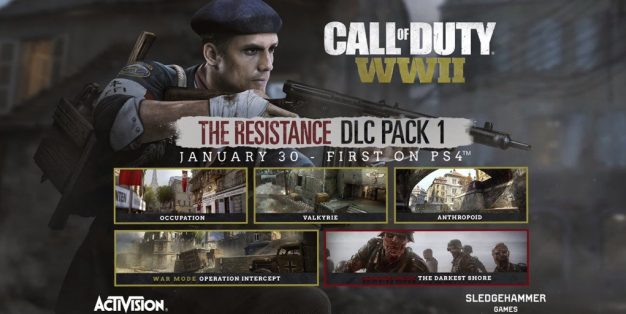 Call of Duty: WWII,Nazi Zombies,Activision,Resistance,COD,تاریخ انتشار بسته الحاقی The Resistance بازی Call of Duty: WWII, بسته الحاقی Resistance بازی Call of Duty: WWII