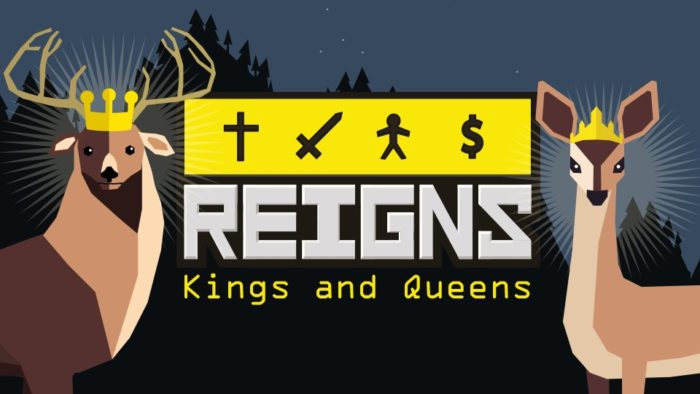 Reigns: Kings and Queens,Reigns,Nintendo Direct,Nintendo Switch,Reigns: Her Majesty,نسخه نینتندو سوییچ بازی Reigns: Kings and Queens,نسخه سوییچ بازی Reigns: Kings and Queens