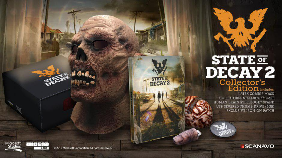 State of Decay 2,State of Decay,Microsoft,Xbox One,PC,نسخه کالکتور بازی State of Decay 2,تاریخ انتشار بازی State of Decay 2
