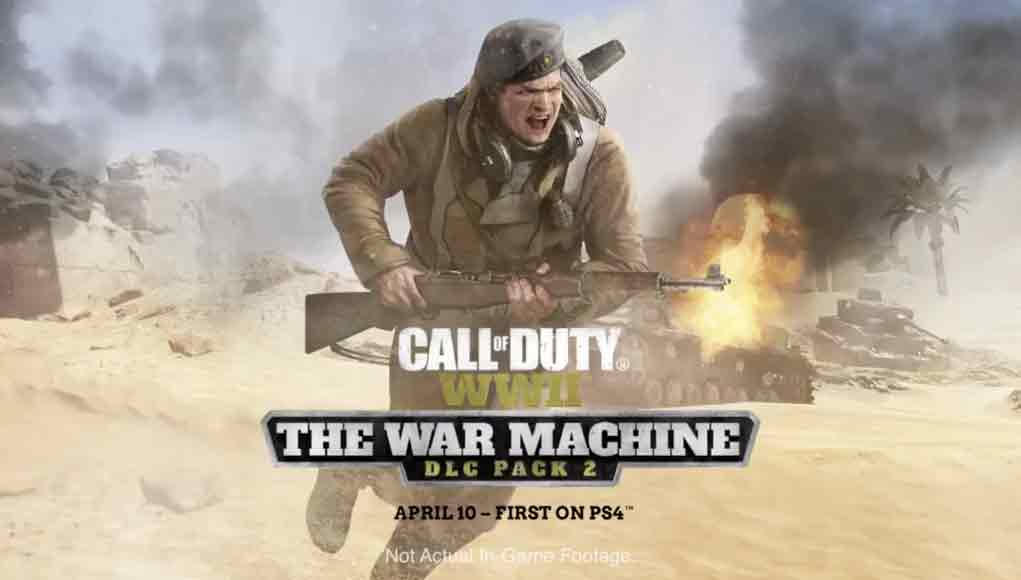 Call of Duty: WWII,Call of Duty,Activision,Sledgehammer Games, The War Machineحذف شرط: اطلاعات بسته الحاقی The War Machine بازی Call Of Duty: WW2 اطلاعات بسته الحاقی The War Machine بازی Call Of Duty: WW2,تاریخ انتشار بسته الحاقی The War Machine بازی Call Of Duty: WW2