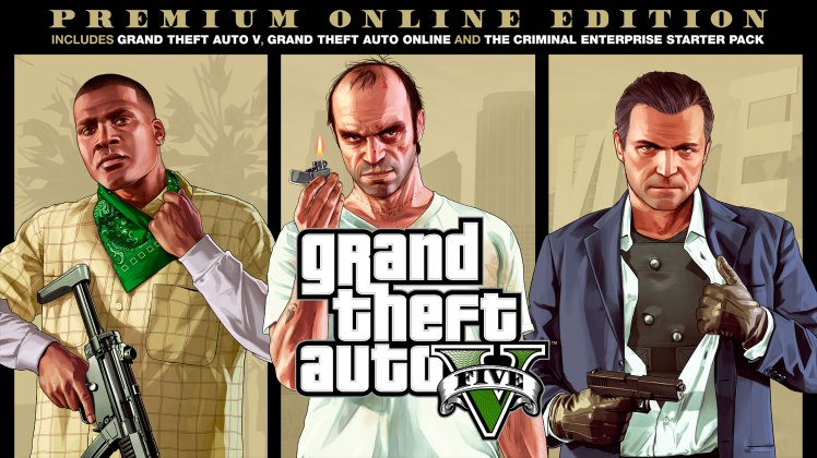 GTA V,Grand Theft Auto V: Premium Online Edition,Grand Theft Auto V,Rockstar Games,Rock Star,تاریخ انتشار نسخه Premium Online بازی gta V,تاریخ انتشار نسخه Premium Online Editionبازی gta V