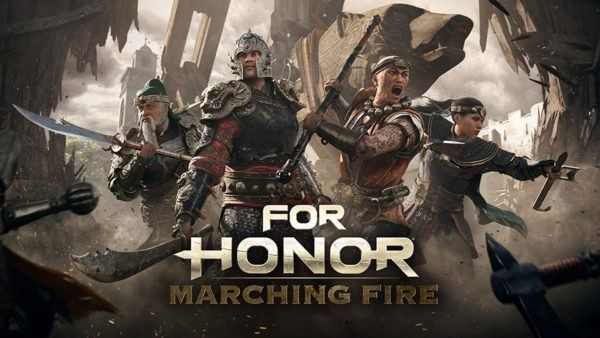 For Honor,Ubisoft,E3 2018,E3 ,For Honor Marching Fire , تریلر بازی For Honor, بسته الحاقی بازی For Honor