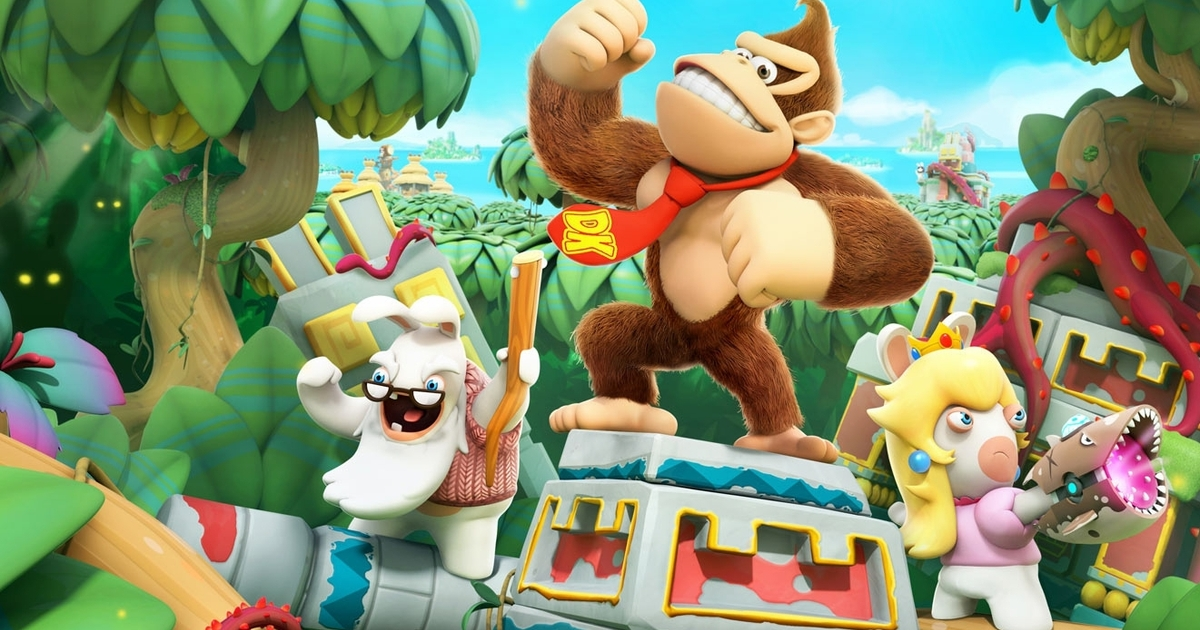 Donkey Kong Adventure,Mario+Rabbids: Kingdom Battle,Nintendo ,Ubisoft,E3 2018بسته الحاقی بازی Mario+Rabbids: Kingdom Battle,دی ال سی بازی Mario+Rabbids: Kingdom Battle
