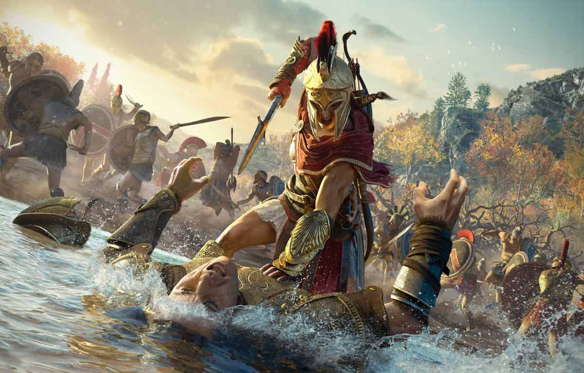 AC: Odyssey٬ Assassin's Creed٬ Assassin's Creed: Odyssey٬ PS4٬ Ubisoft٬ اساسینس کرید جدید٬ اسسینس کرید