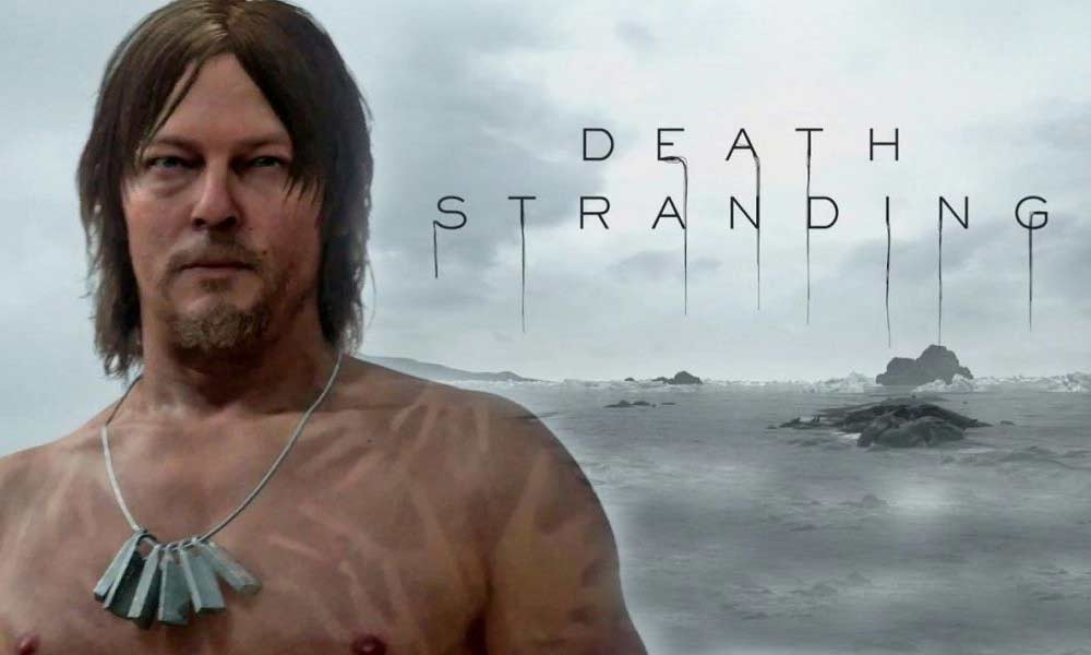 Death Stranding٬ Hideo Kojima٬ Kojima٬ Kojima Productions٬ The Game Awards 2018٬ اطلاعات جدید بازی Death Stranding٬