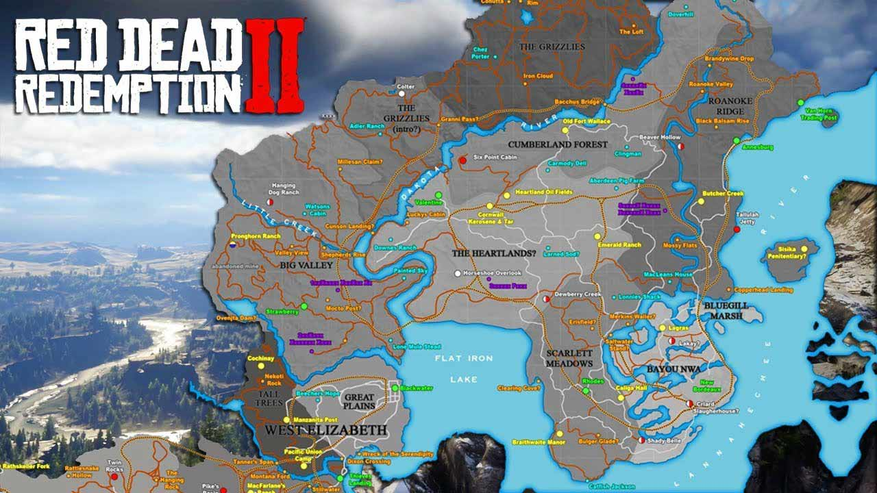 Easter egg بازی Red Dead Redemption 2٬ Red Dead Redemption 2٬ آموزش نقشه بازی Red Dead Redemption 2٬ اخبار بازی red dead redemption 2٬ بازی Red Dead Redemption 2٬ گنج بازی red dead٬ گنج بازی red dead 2٬ نقشه Red Dead Redemption 2٬ نقشه بازی red dead redemption٬ نقشه کامل Red Dead Redemption 2٬ نقشه گنج بازی Red Dead Redemption 2٬ نقشه گنجینه های بازی Red Dead Redemption 2