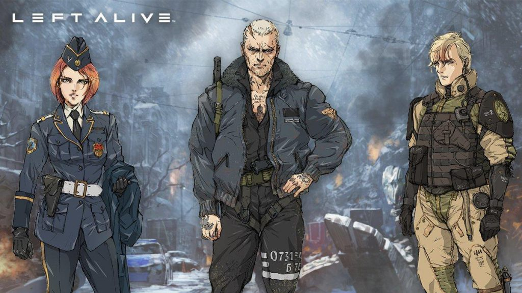 Left Alive٬ Left Alive Gameplay٬ Left Alive PC٬ Left Alive PS4٬ Square Enix٬ اسکوئر انیکس٬ اطلاعات بازی