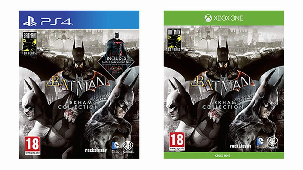 Batman: Arkham Collection برای PS4 و Xbox One منتشر خواهد شد